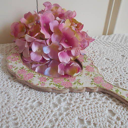 tinuszDecorArt / Zrkadlo s ružami
