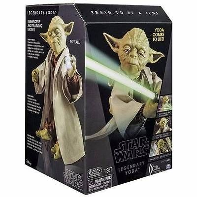 Star Wars 2015 Yoda-Black Collectors Box-Interactive Jedi Training Modes click picture to enlarge click picture to enlarge click picture to enlarge cl