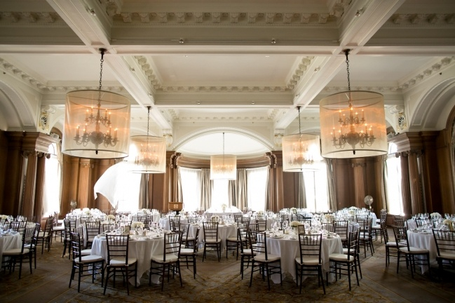 Grand Ballroom, 165 guests