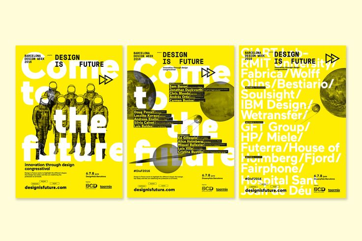 Design is Future congresstival is an event organized by Toormix and Barcelona Centre de Disseny (BCD) which was born with the main goal to explore the future of design as a tool for the business innovation, an analysis about how is evolving the design pro…