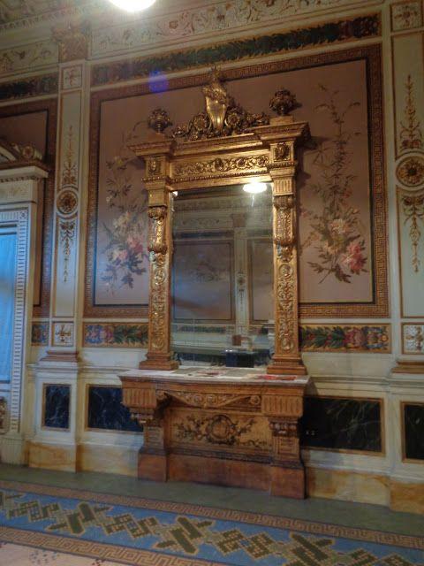 La Saletta Reale - la sala di accoglienza del Re presso la Stazione ferroviaria di Monza