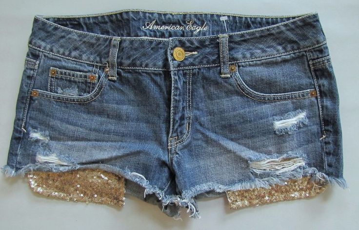 how to distress cut off shorts