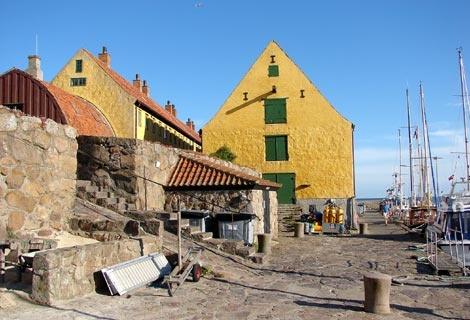 Tiny Island Christiansø. Photo by Annette.