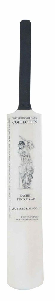 Sachin Tendulkar  -Cricketing Greats  Mini Bat