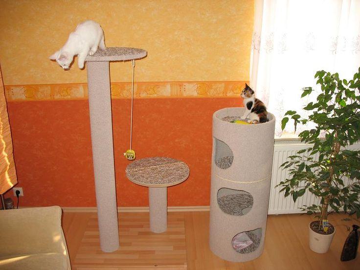 Katzentonne selbst gebaut - Seite 2 - Katzen Forum