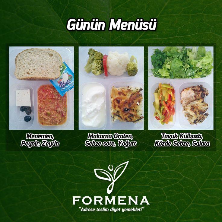 Formena'da günün menüsü. #formenadiyet #formena #diyet #diyetisyen #form #sağlık #lezzet #paketservis #kilokontrol #beslenme #formdakal #adreseteslimdiyetyemekleri