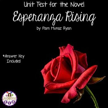 Phd Writers This Is A Unit Test To Give At The Conclusion Of The Novel Esperanza Rising  By Pam Munoz Ryan There Are  Questions Character Matching  Multiplechoice  Nursing Assignment Help also Persuasive Essay Paper Unit Test And Answer Key For The Novel Esperanza Rising By Pam Munoz  Health Care Reform Essay
