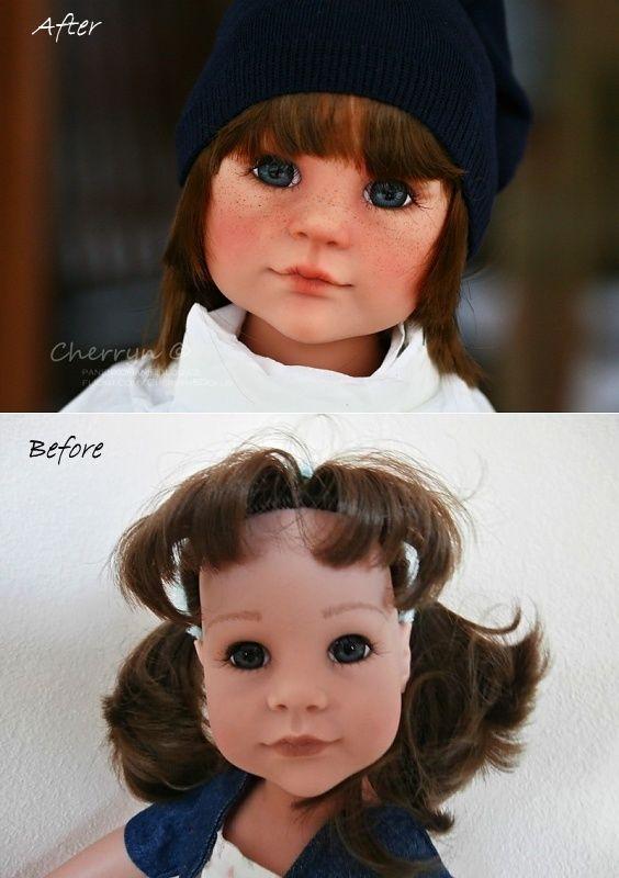 Panenky Gotz - Lucka si přála mít z panenky chlapečka :-) | P A N E N K O M Á N I E