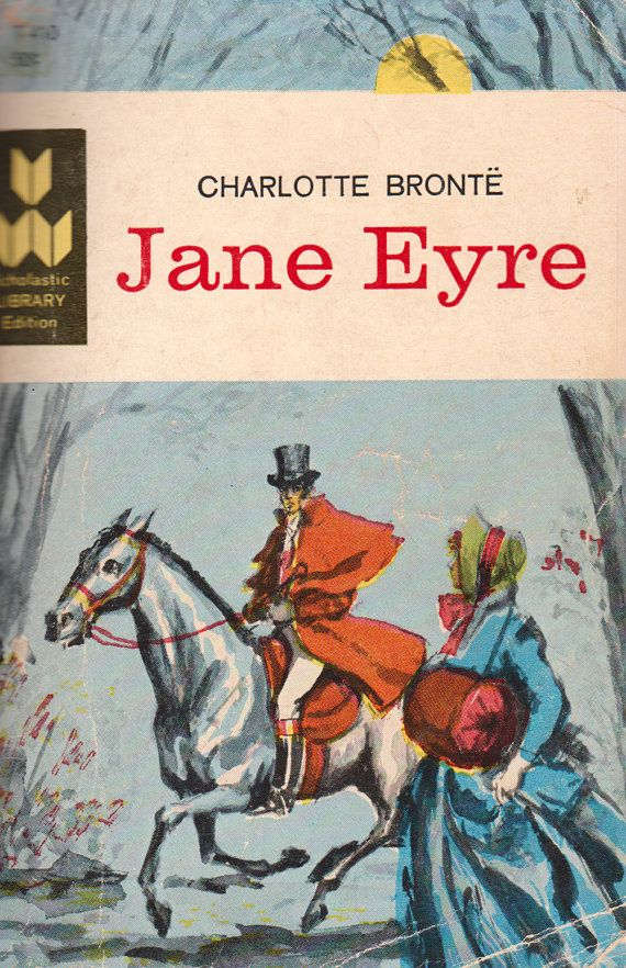 Jane Eyre by Charlotte Brontë ~ the first real novel I ever read and started my life long love affair with books! GG.