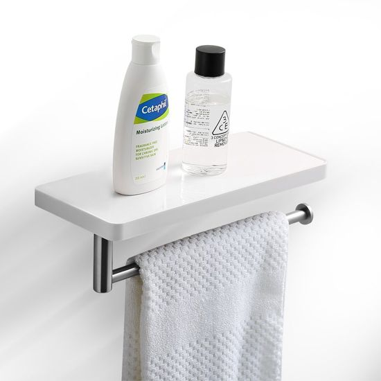 Deal of the Day: 63% Off Wall-Mounted Bathroom Shelf