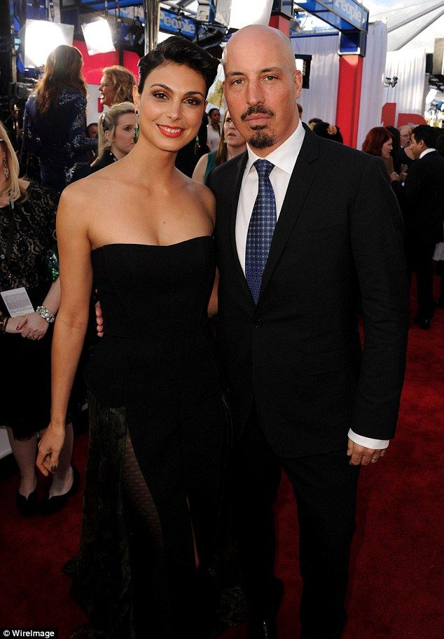 Big check: Morena Baccarin has been ordered to pay her estranged husband a large sum. On Friday TMZ reported the 36-year-old actress will have to hand Austin Chick $23,000 a month; here they are seen in 2013