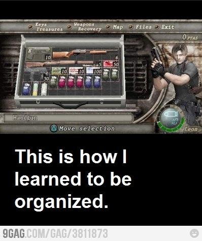 Thank you, Resident Evil...