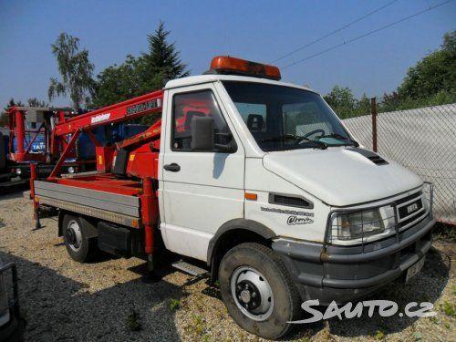 Iveco 40 E 10 W 4x4 plošina - Sauto.cz