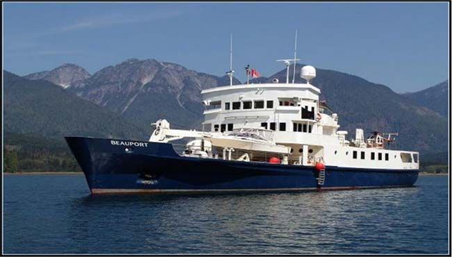 This Expedition Ship is ready to take you and your guests in stabilized comfort and safety for long range cruising. Beauport (her original a...