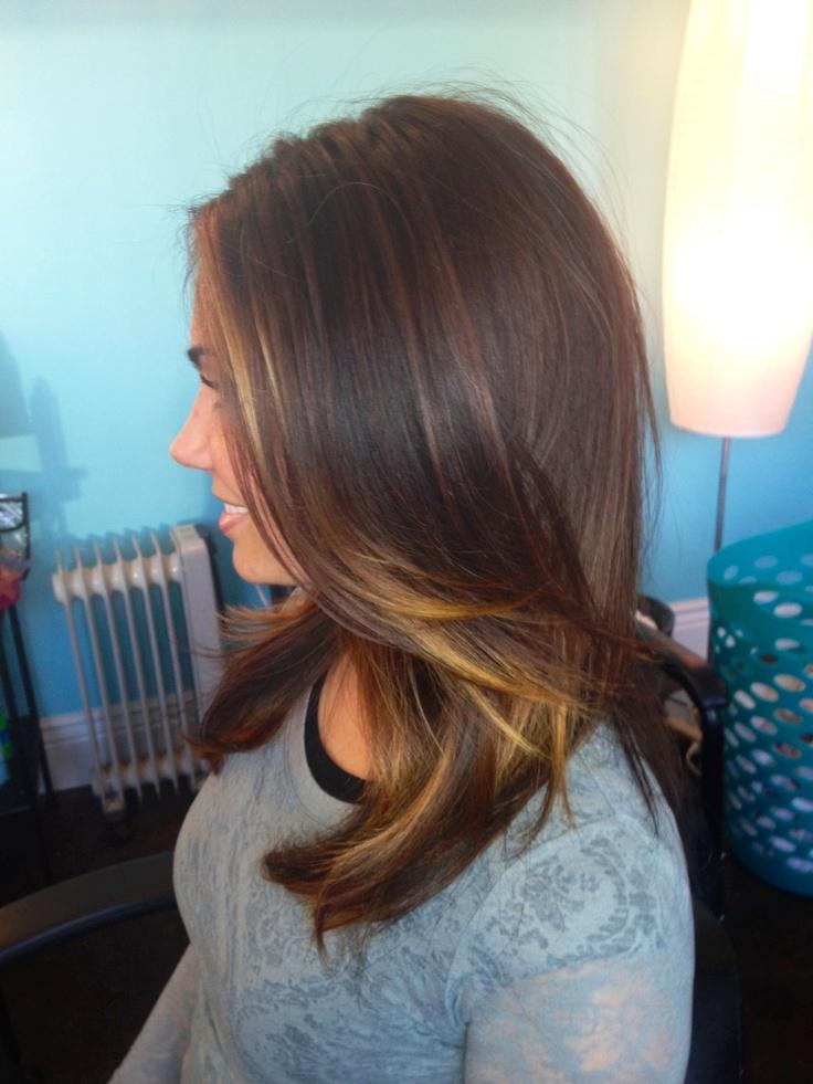 Ombre || melt || natural || brunette