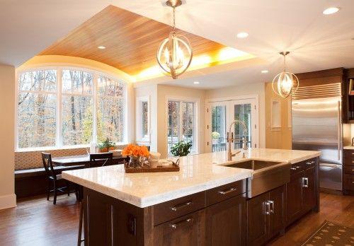 Warm Modern Kitchen