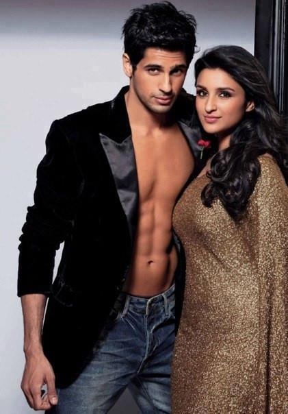 Siddarth Malhotra and Parineeti Chopra
