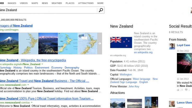 Microsoft's Bing Search Engine Gets More Facebooky ...