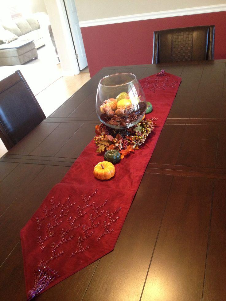 Fall table decor halloween thanksgiving pinterest for Table design pinterest