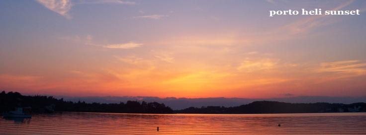 Porto Heli sunset, fb covers by IzzyB