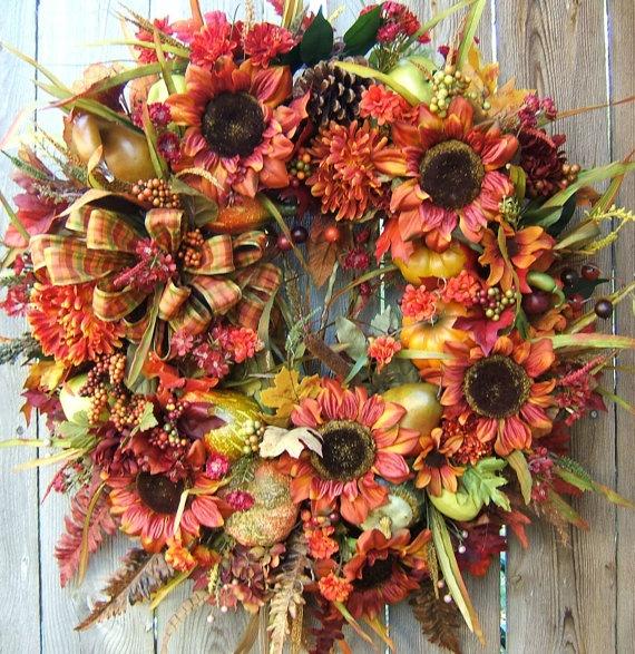 fall wreath beautiful!!!