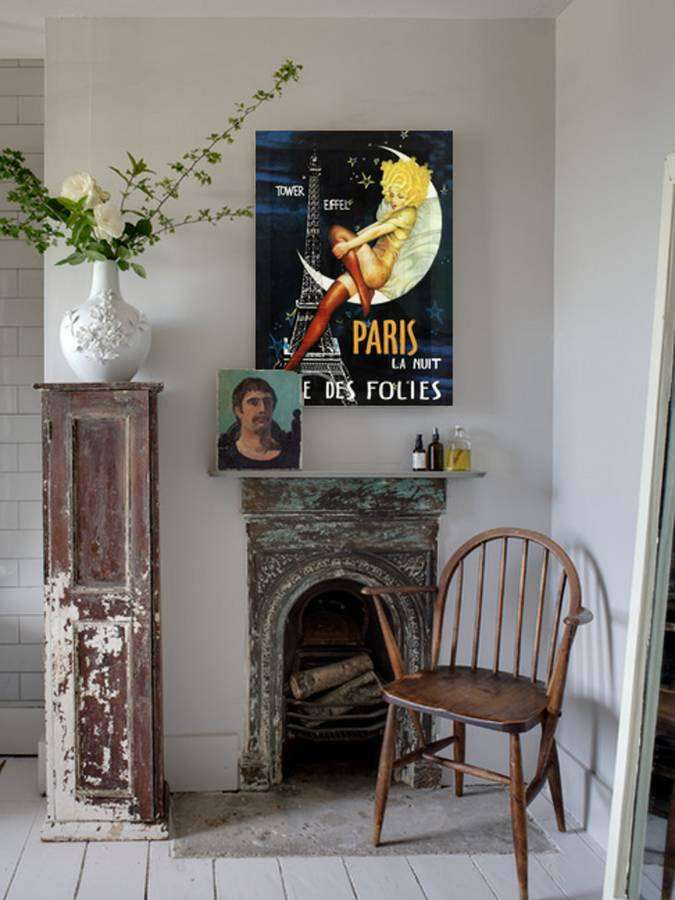 I've just found Vintage Reissue Paris La Nuit, Ready To Hang Canvas Art. Step into the past with this stunning vintage re-issued original print. . £55.00
