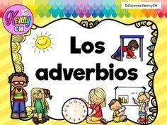 Tarjetas para trabajar los adverbios