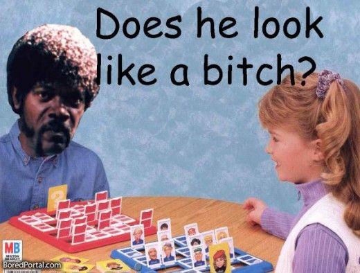 Samuel L. Jackson plays Guess Who. BEST MEME EVER.