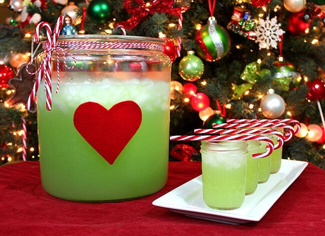 how to make Grinch Juice - Popsicle Blog