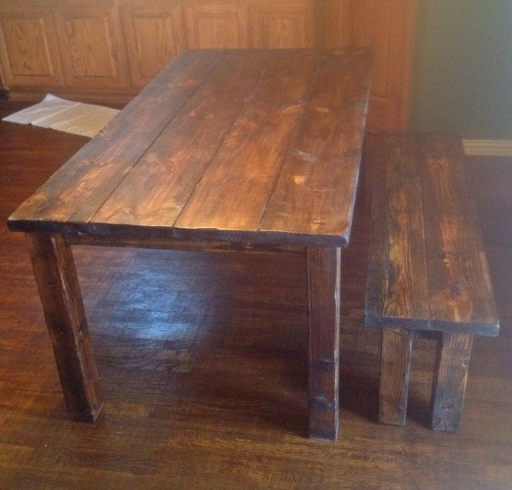 Distressed Farmhouse Table