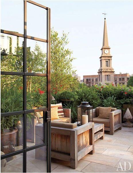 Garden   Green roof terras