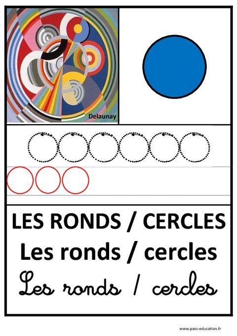 Ronds – Graphisme – Affichages pour la classe – Maternelle – PS – MS – GS – Pass Education