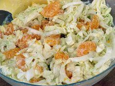 Chinakohlsalat mit Mandarinen, ein leckeres Rezept aus der Kategorie Gemüse. Bewertungen: 9. Durchschnitt: Ø 3,2.