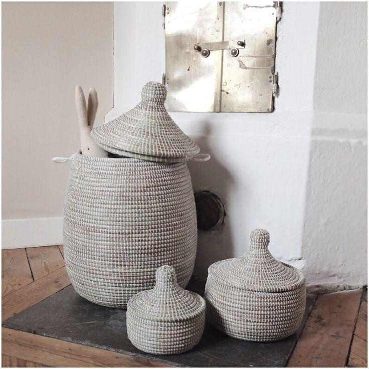 Baskets from Afroart, handmade and Fairtraid