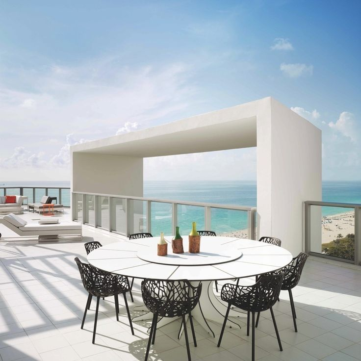 Glamorous and contemporary interiors at W South Beach Miami hotel http://hotels.hoteldealchecker.com