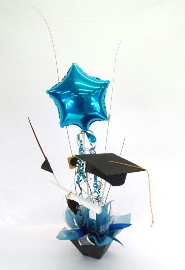 Centro de mesa para graduacion