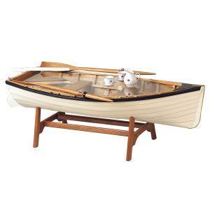 Fishing Boat Tea Table Nice Designs Pinterest