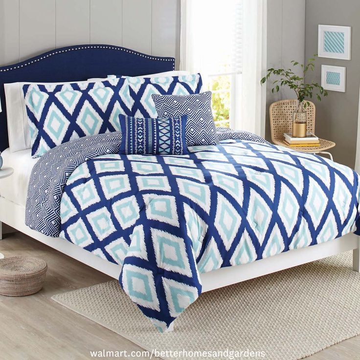 Best Best Bets From BHG Products At Walmart Images On - Better homes and gardens comforter sets