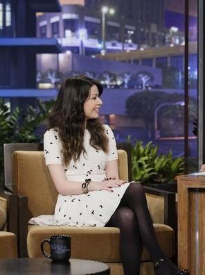 miranda cosgrove on jay leno  | ... Carpet Dresses: Miranda Cosgrove - The Tonight Show with Jay Leno 2012