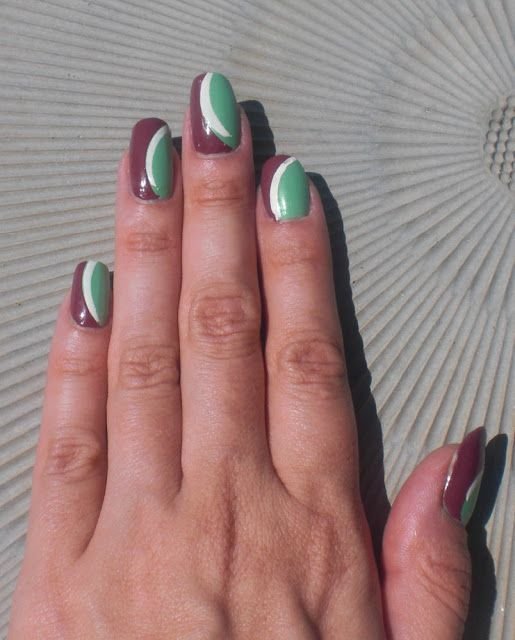 Concrete and Nail Polish: Charlotte Russe Jade and Some Nail Art