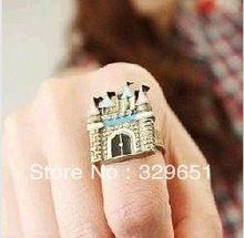 Европейский и америка торговли ювелирные изделия винтажный замок дом отверстие подвески кольцо R01W64F(China (Mainland))