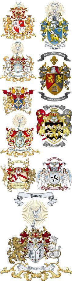 Advanced Artwork Coat of Arms Samples                              …