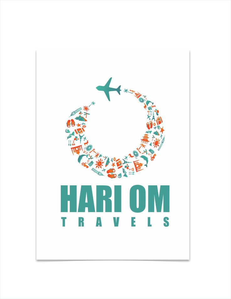 Logo Designing of Travel Company by Graphic Designer Vijay Deore