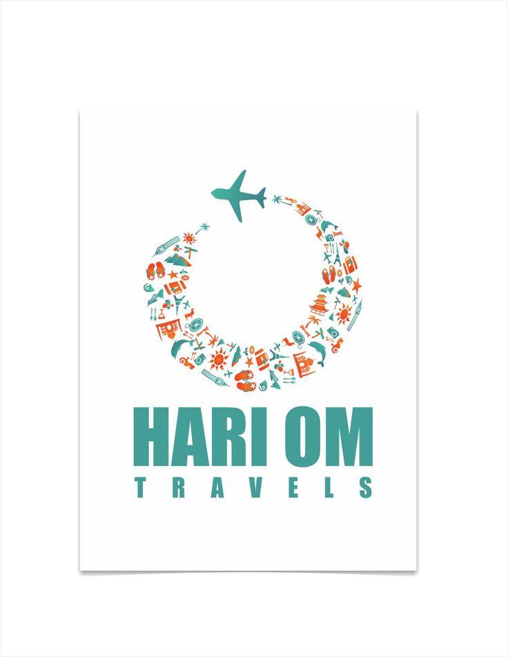Logo Designing of Travel Company by Graphic Designer Vijay Deore