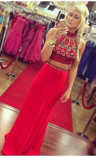 3 piece prom dresses tight