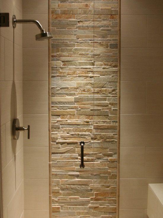 Luxurious Master Bathroom Design For Mountain House