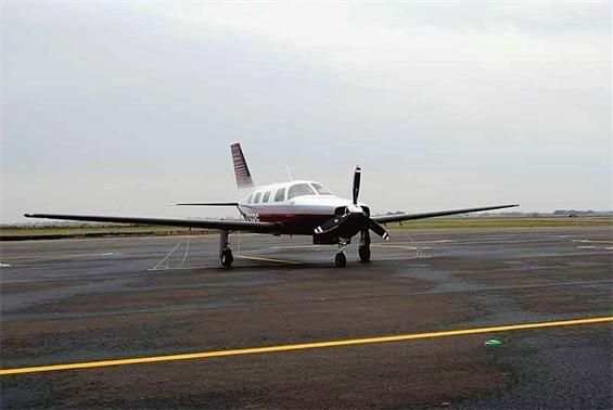 1990 Piper Mirage, REG: N26PG, 3500 TT, Aspen 1000 coupled ...