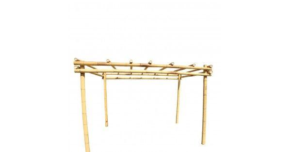 Met onze kant en klaar bamboe bouwpakketten kan je zelf eenvoudig een pergola maken voor in de tuin of op het terras. Ook voor feesten of speciale evenementen zijn onze bamboe pergola's uitermate geschikt omdat je ze snel kan opbouwen maar ook makkelijk terug kan demonteren.Met een beetje