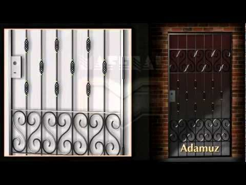 7 best rejas para casa images on pinterest iron doors for Disenos de puertas de hierro