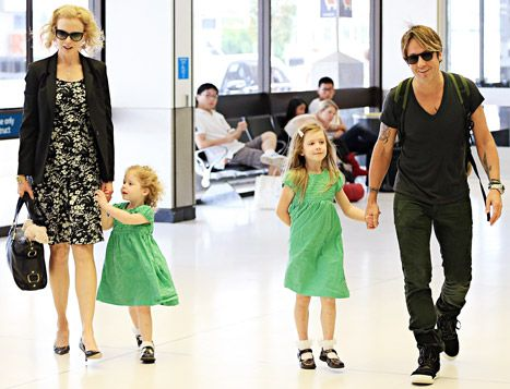 "Keith Urban and Nicole Kidman's Daughters ""Might Be"" Musical - Us Weekly"